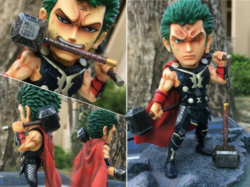 One Piece Roronoa Zoro Cosplay Marvel Thor WFC World Figure Colosseum 13cm NoBox