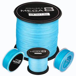 Blue-Power-Braid-Dorisea-MEGA-8-Strands-100-Pe-Dyneema-Braided-Fishing-line