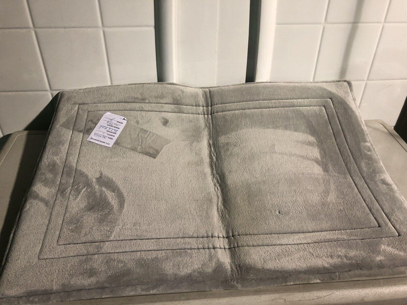 Paramount 24 By 36 Light Green Memory Foam Bath Mat Rug Buy It Now For Sale Online Ebay