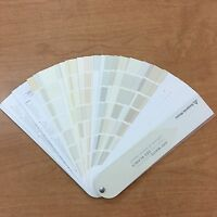 Benjamin Moore Off White Color Collection Fandeck Sealed