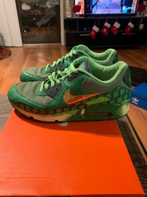 Size 8.5 - Nike Air Max 90 QK St Pattys