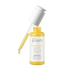 Make-prem-Idebenone-Lifting-Ampoule-30ml-K-beauty-Elasticity-Care-MAKE-P-REM