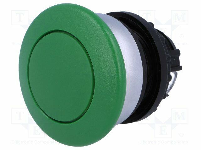 Switch: push-button; 2-position; 22mm; green; Illumin: none; IP67 (1 pcs)