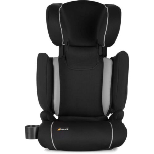 New Hauck Bodyguard Pro Group 2//3 Car seat+Isofix Base in Black//Grey 3-12 years