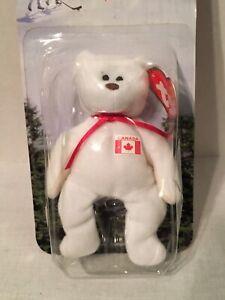 McDonald/'s Ty Beanie Baby w Rare Errors Maple The Bear