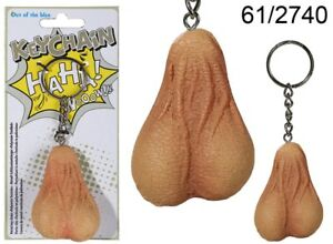 Testicles-Keyring-Keychain-Pair-of-Balls-Joke-Key-Ring-Scrotum-Novelty-Gift