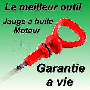Jauge-a-huile-moteur-pour-Mercedes-W164-W203-W209-W211-W220-SL-CL-SLK-CLK-CLS