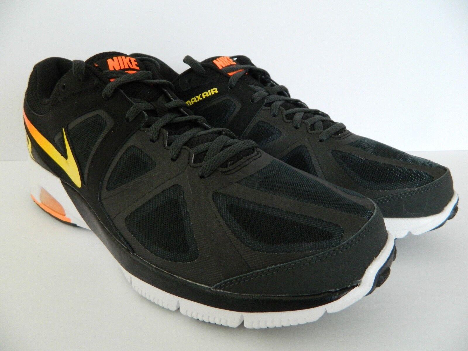 Nike Air Max Run Lite 4 (negro / orng) TR yllw anthricte TTL orng) / (5549006) NIB b724b9