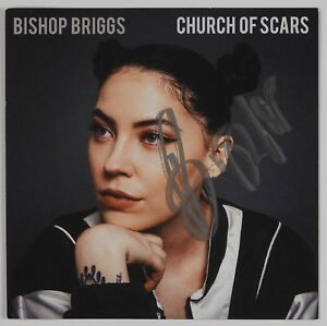 Bishop Briggs Church of Scar signed Beckett autograph CD Booklet
