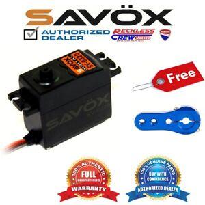 Savox-SV-0320-High-Voltage-Digital-Servo-Free-Aluminium-servo-horn-Blue