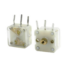 2Pcs 223F Style Dual 20pF Variable Capacitor for FM Radio HP