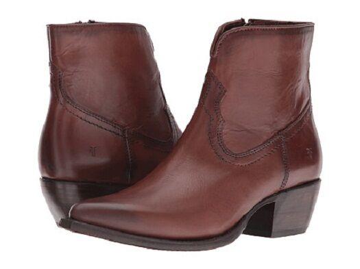 Nueva Nueva Nueva camiseta para mujer Shane botas al Tobillo de Cuero Bordado Corto Whisky 3477989-WHS 7.5  barato