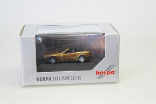 neuw.//ovp 1:87 Herpa exclusiv 225441 MB SL Roadster Marmor Edition