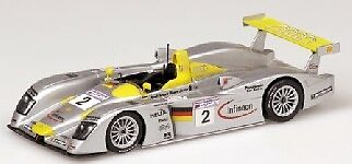 Audi R8 2nd Le Mans 2001 Aiello Capello 1 43 Model MINICHAMPS