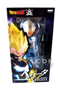 Dragon Ball Z Super Dbz Super Master Stars Pièce Vegeta Brosse Statue Banpresto 30cm