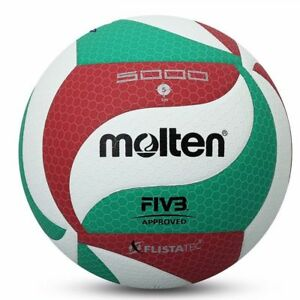 Molten-VSM4500-Volleyball-Soft-Ball-No-5-PU-Leather-Sports-Playing-Game-Ball