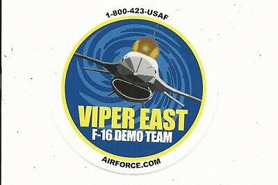 Sticker US Air Force USAF Demo Team Heritage Flight Decal