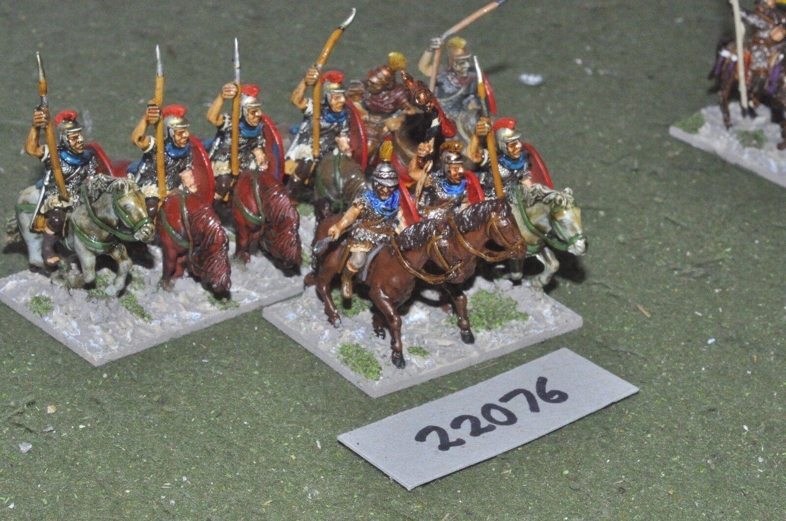 25mm época Romana Romana-Late pesado 9 higos caballería-CAV (22076)