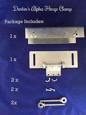 Silkscreen Hinge Clamp screen printing press off contact adj better-  Speedball