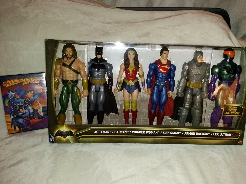 Batman Vs súperman  seis cifras y la película Batman súperman Dibujos Animados