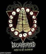 DECAPITATED cd lgo Nihility SPHERES OF MADNESS Official SHIRT XL New nihility