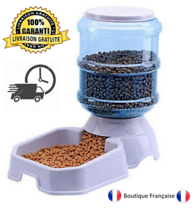 Distributeur Croquettes Distributeur Nourriture Chien Chat Automatique Pratique