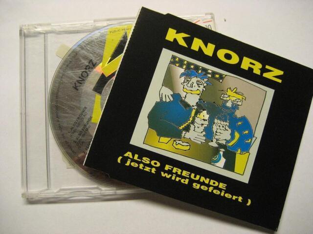 """KNORZ """"ALSO FREUNDE JETZT WIRD GEFEIERT"""" - MAXI CD"""