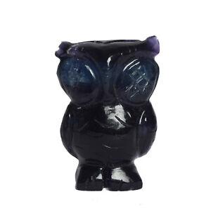 Natural-Amethyst-Owl-Figurine-82-4-Gram-Certified-Gemstone-statue-EF-537