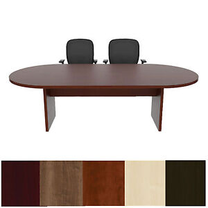 Foot Racetrack Conference Table Cherryman Amber Cherry Mahogany - 8 ft conference table