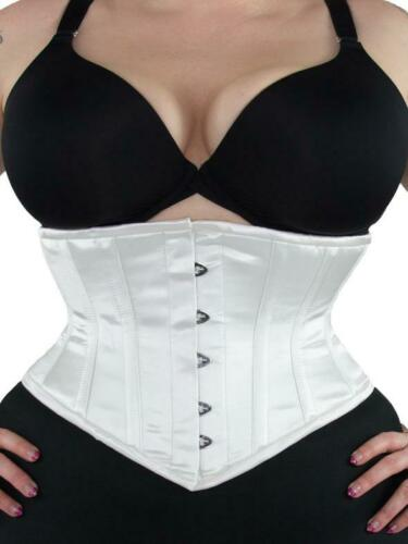 "GUC! 201 Authentic White Satin 22"" inch Underbust"