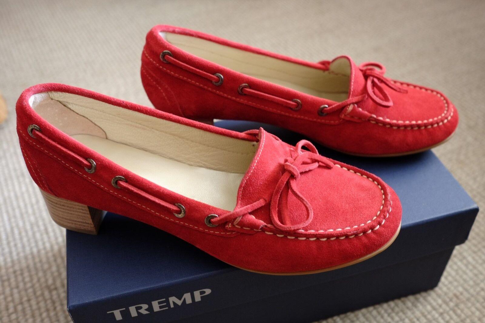 Rote Loafer TREMP, von TREMP, Loafer neu, Größe 38,5 26d8ee