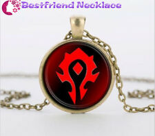 WoW World of Warcraft Hearthstone silver necklace for women men Jewelry#T30