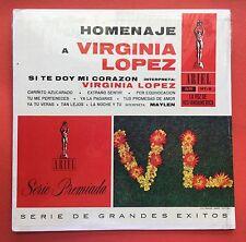 Homenaje A Virginia Lopez Maylen Con Trio Y Ritmo Bolero ARIEL Puerto Rico MINT-