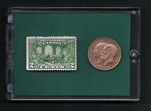 Canada-Confederation-1867-1927-Commemorative-Stamp-amp-Coin-Token-Set