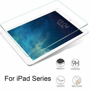 For-Apple-iPad-Air-Mini-Pro-2-3-4-Tempered-Glass-Film-Protection-Screen-FV1