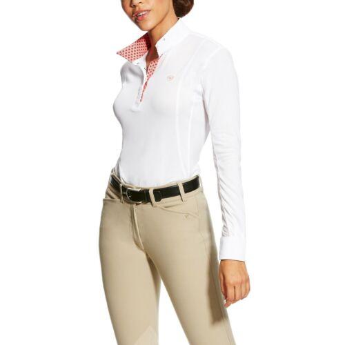 Ariat Women/'s sunstopper Pro Show Shirt-Différentes Tailles et Couleurs