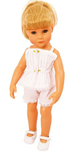 VINTAGE STYLE CAMISOLE AND SHORTS SET FOR MED DOLLS AND BEARS 18-20 INS 45-50CM