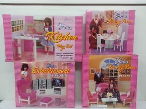 Beau Image Is Loading Gloria Barbie Doll House Furniture  Kitchen Dining Entertainment