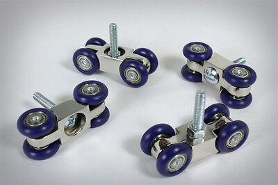 CW2 wheels for dslr video camera table skater dolly slider rail rigwheels track