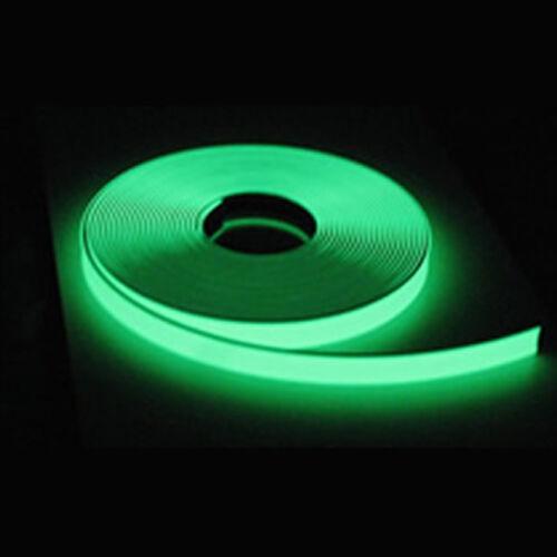 6 Hour Glow 1 Roll GLOW TAPE 1//2 Inch X 150 Feet