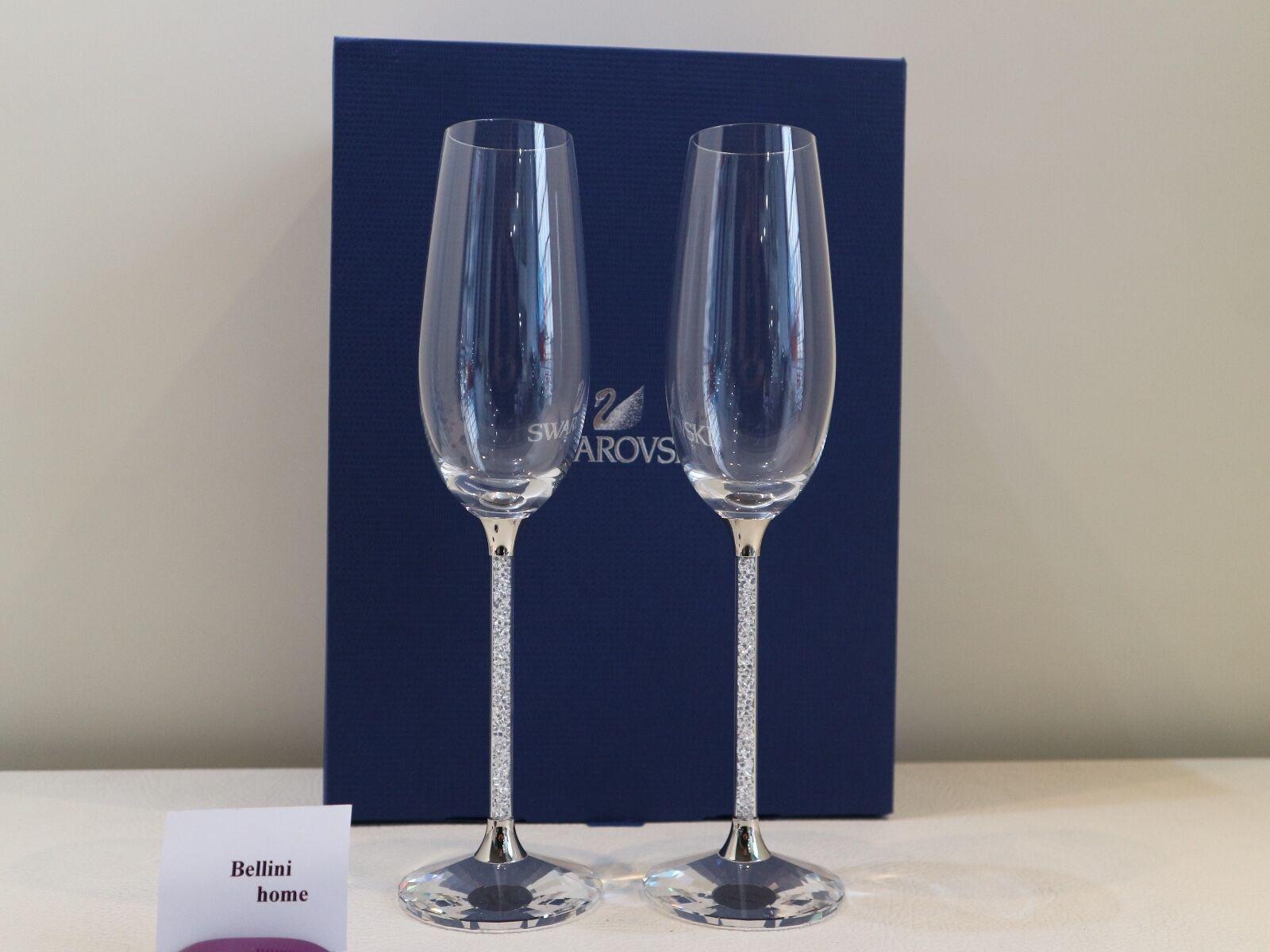 Swarovski Crystalline Glasses Flutes 255678
