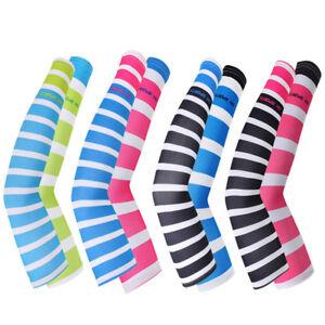 Fj-Uomo-Donna-Manicotti-da-Basket-Ciclismo-Corsa-UV-Cover-Protezione-Solare-Fad