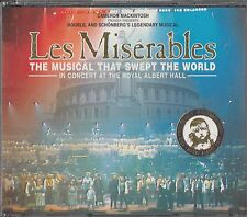 LES MISERABLES London Cast Recording Soundtrack 2-CD Colm Wilkinson Musical 1996