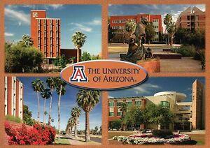 Details about University of Arizona, Tucson AZ, Administration Building  etc, Campus - Postcard