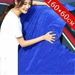 BLUE-LARGE-SOFT-MICROFIBRE-CLEANING-AUTO-CAR-DETAILING-CLOTHS-WASH-TOWEL-DUSTER