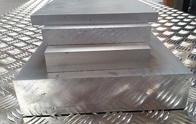 Aluminium Plate Flat Sheet 10mm 65mm Multiple Sizes Grade 6082t6 H30 Ebay