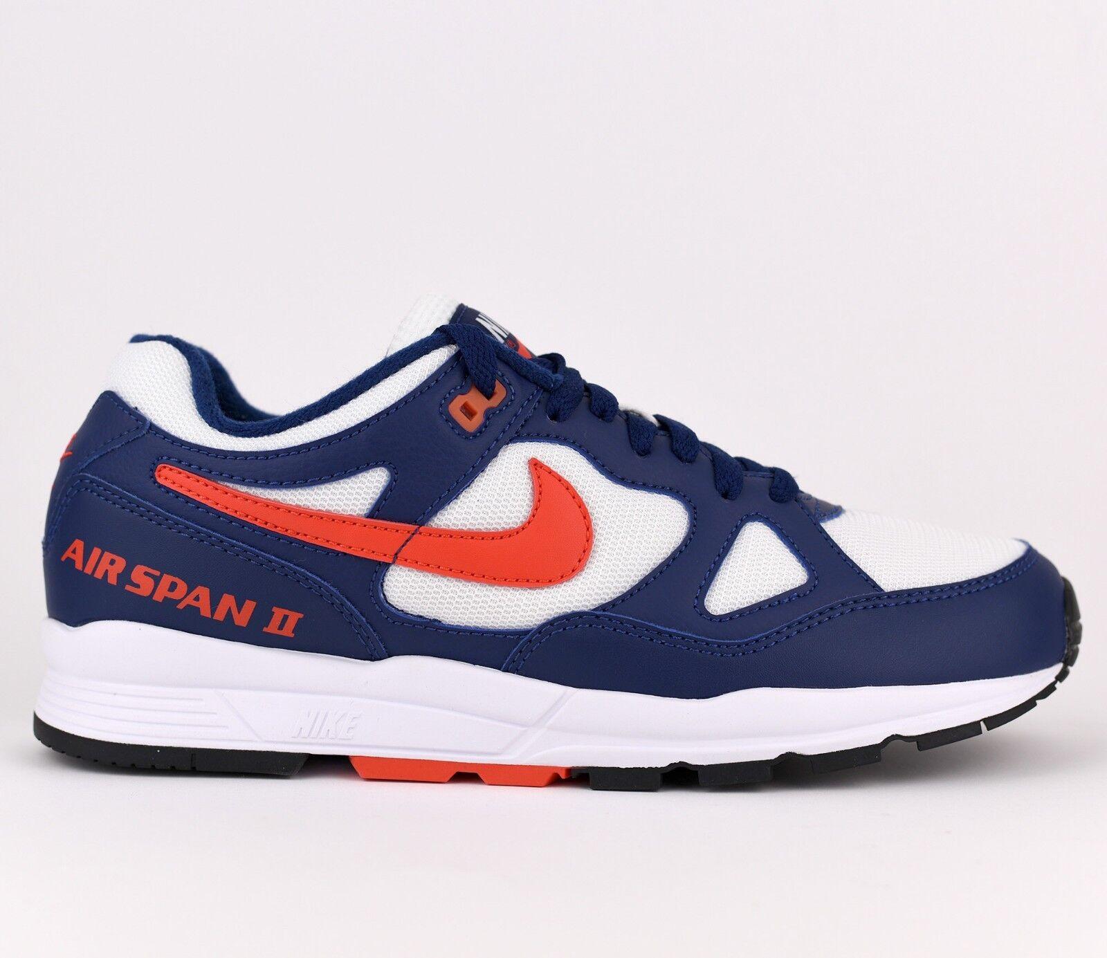 Nike Air Span II 2 Men Lifestyle Sneakers shoes New blueee Void AH8047-404