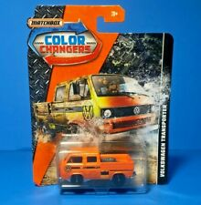 Hot Wheels COLOR CHANGERS MATCHBOX VOLKSWAGEN TRANSPORTER