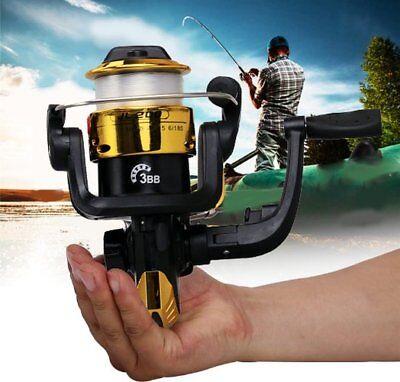 Ball Bearing Saltwater Freshwater Fishing Spinning Reel Left Right FD5000