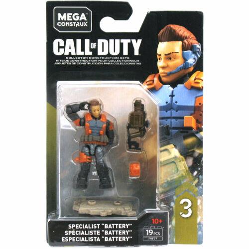 "MEGA Bloks Construx Call of Duty specialisti SERIE 3-Erin /""BATTERIA/"" Baker FIG"